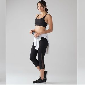 "Lululemon Train Time Hi-Rise Sport Crop 17"" Pant"